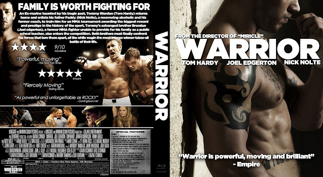 Capa Bluray Warrior