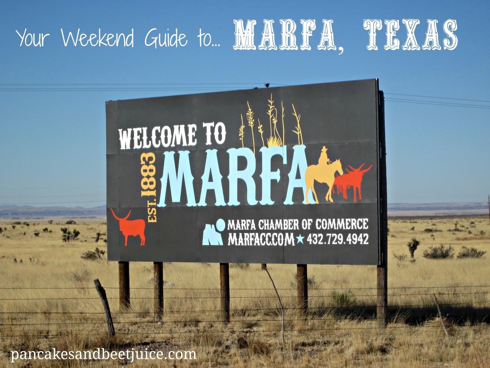 Marfa Texas From Dallas Weekend