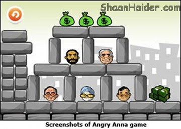 Angry Anna : Gaming Version Of Anna Hazare Against Corruption