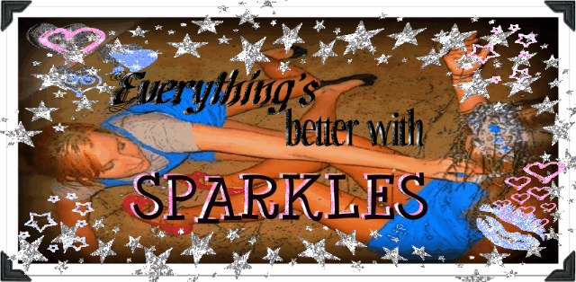 everything&#39;s better with *Sparkles*