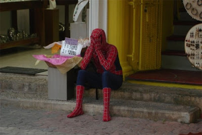 Spiderman need job and live insurance