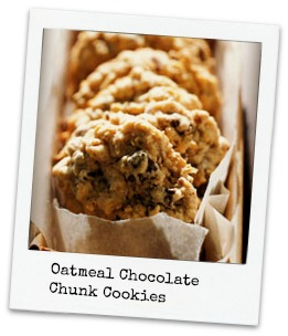 ... for Chocolate: Oatmeal Chocolate Chunk Cookies: National Oatmeal Day