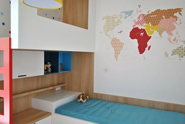 Markéta Šilhavíková návrh dětského pokoje