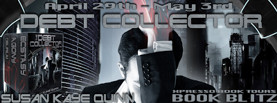 Book Blitz: Debt Collector by Susan Kaye Quinn