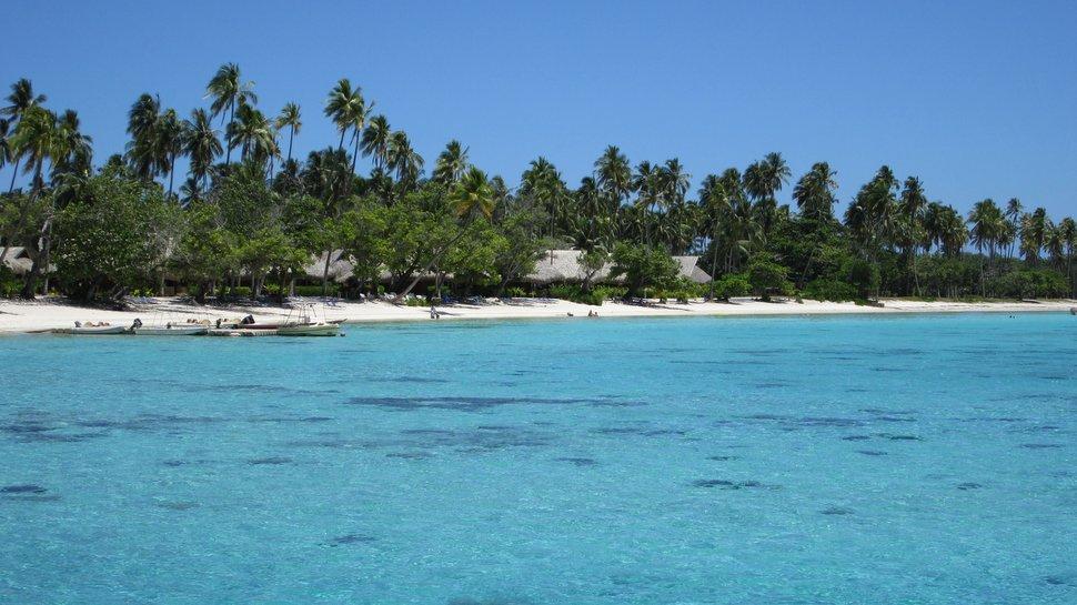 Plage du Sofitel Ia Ora Beach Resort