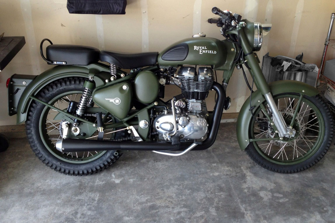 RoyalEnfields.com: This Royal Enfield Military looks ready ...
