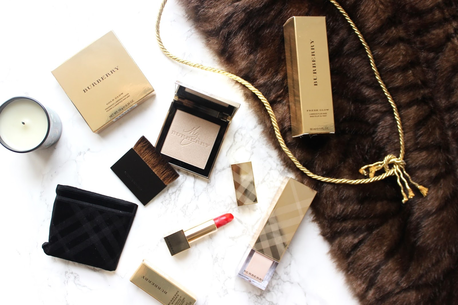 Burberry Festive Gold Collection
