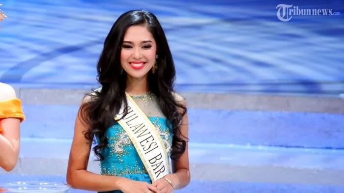 FOTO MARIA ASTERIA SASTRAYU Miss Indonesia 2014 Finalis Kalimantan Barat