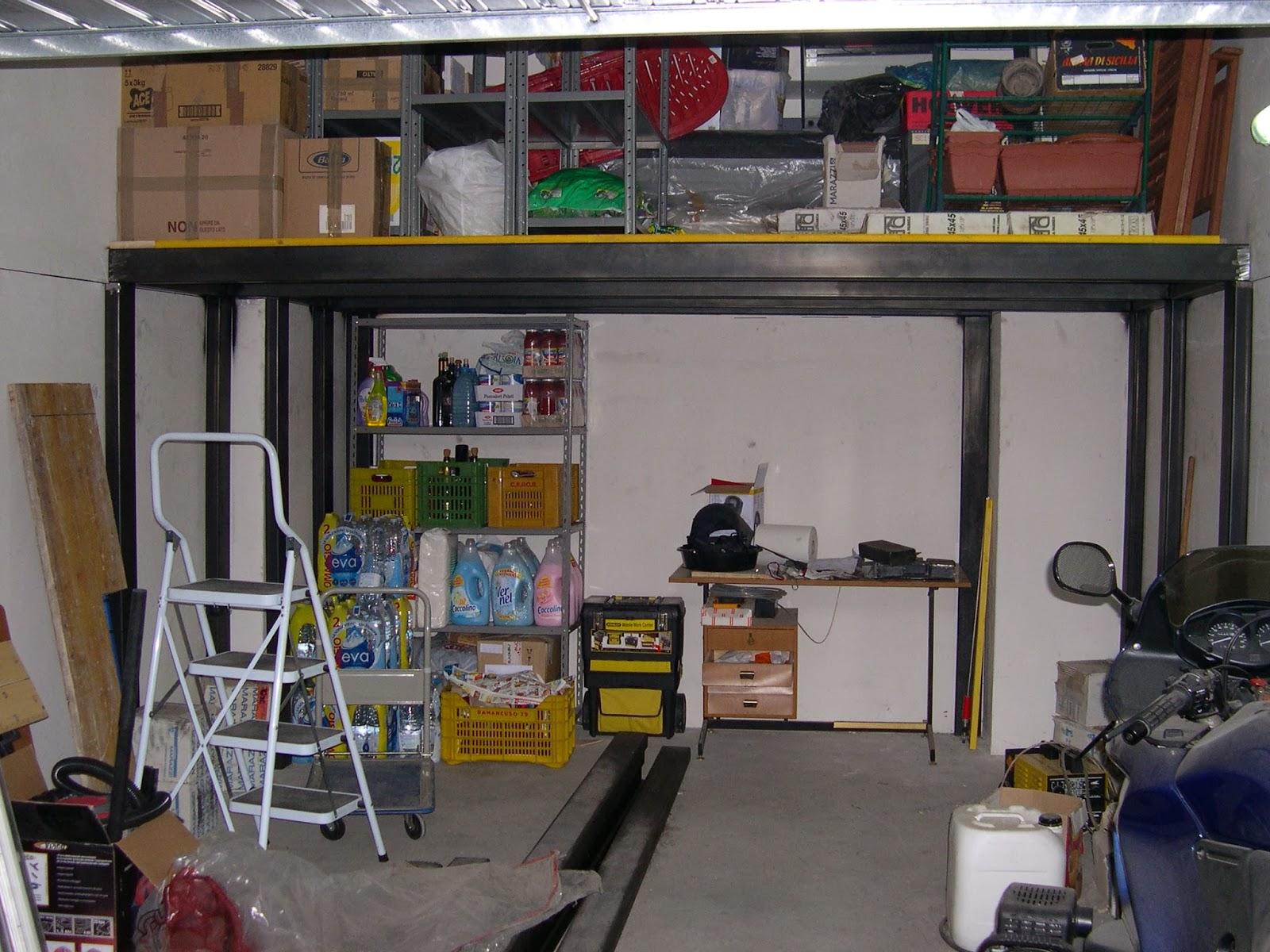 Lavori e lavoretti soppalco fai da te in solitaria for 2 officine di garage per auto