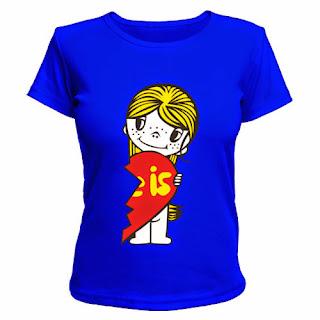 футболка love is женская
