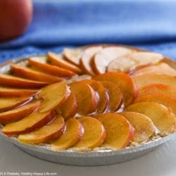 Picture of banana peach cream pie