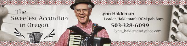 Lynn Haldeman Accordionist