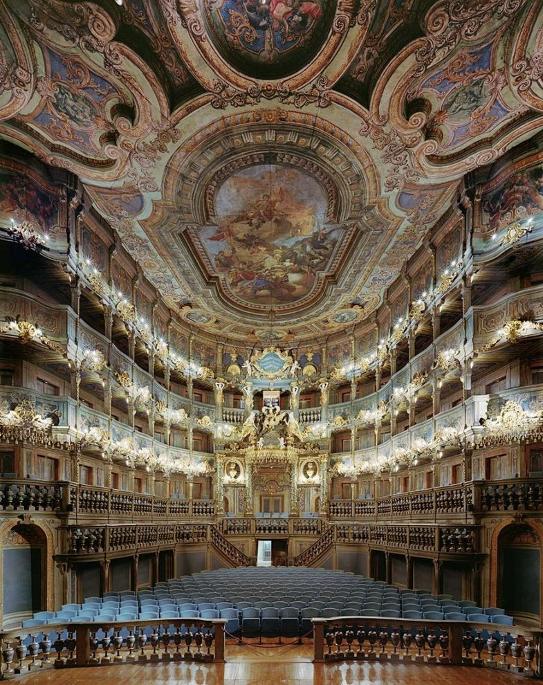 Fascinating Opera Houses Interiors Around the World