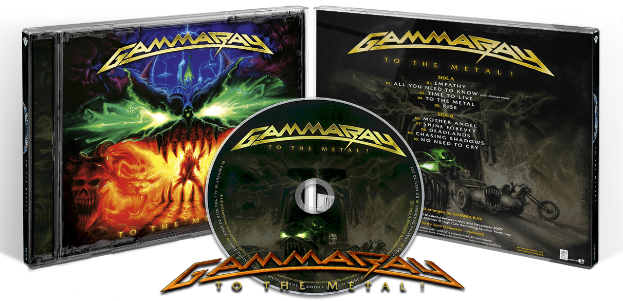 Gamma Ray l Discografía 1990-2015 l Power Metal
