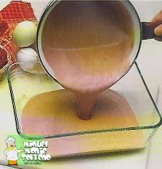 BISCUIT GLACE DE FRAMBUESA RECETA DE POSTRE