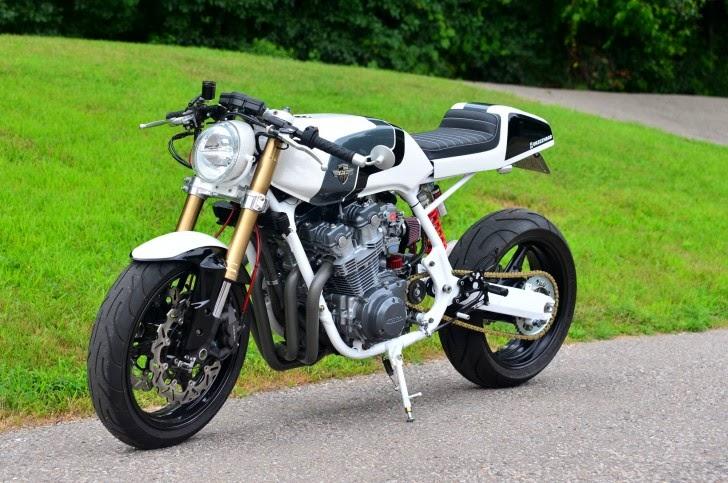 Honda CB900F Cafe Racer   way2speed