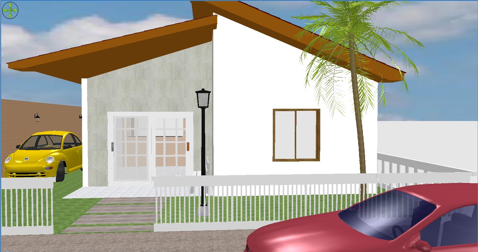 Macoi Projetos de Casas: Projeto de casa com 2 dormitórios sala  #803F20 1591 839