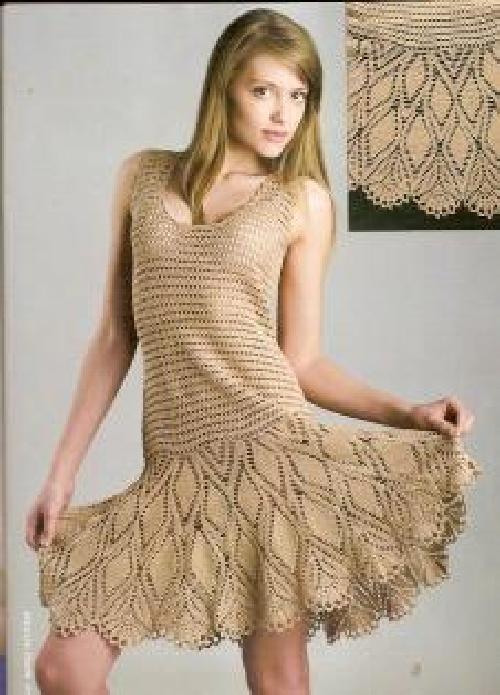 2012 Handgestrickte Kleidermode