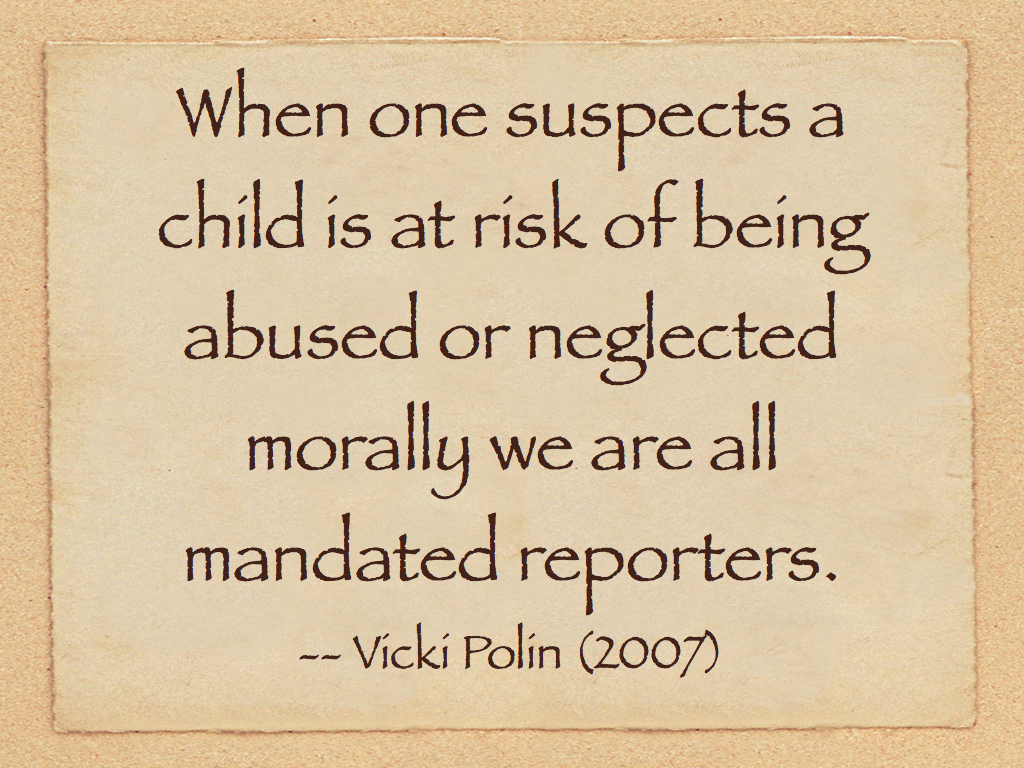 Reporting Child Abuse and Neglect - policy.ucop.edu