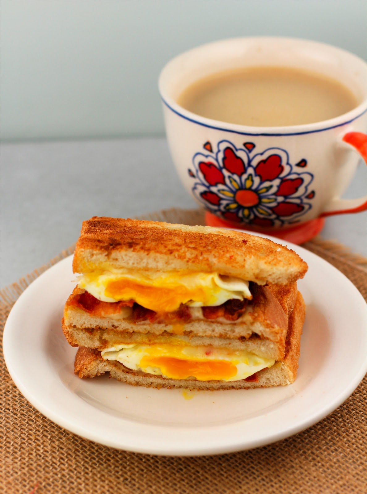 pepper and ham sandwich bacon and egg sandwich with pepper jack recipe ...