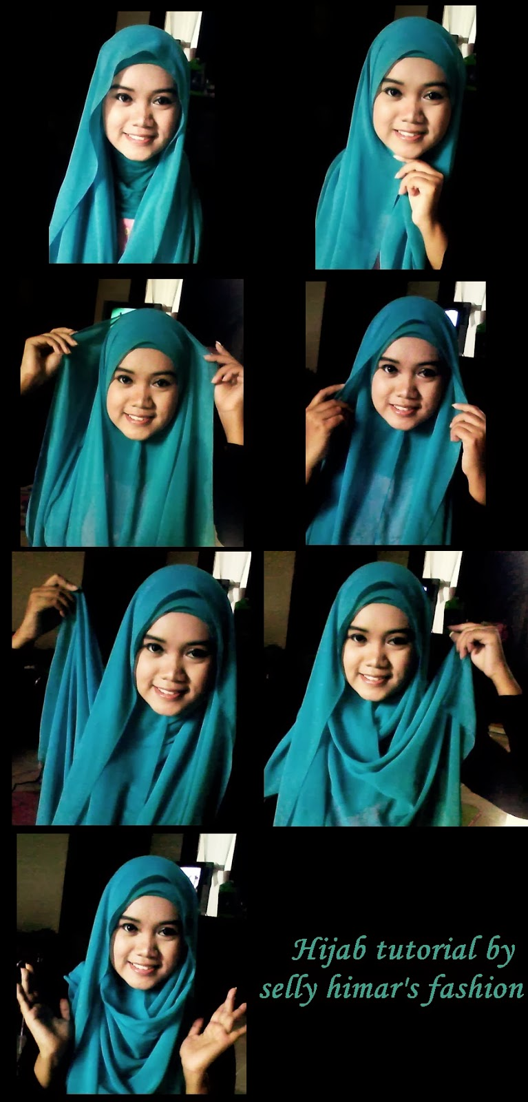 SELLY HERLAMBANG Tutorial Hijab Style