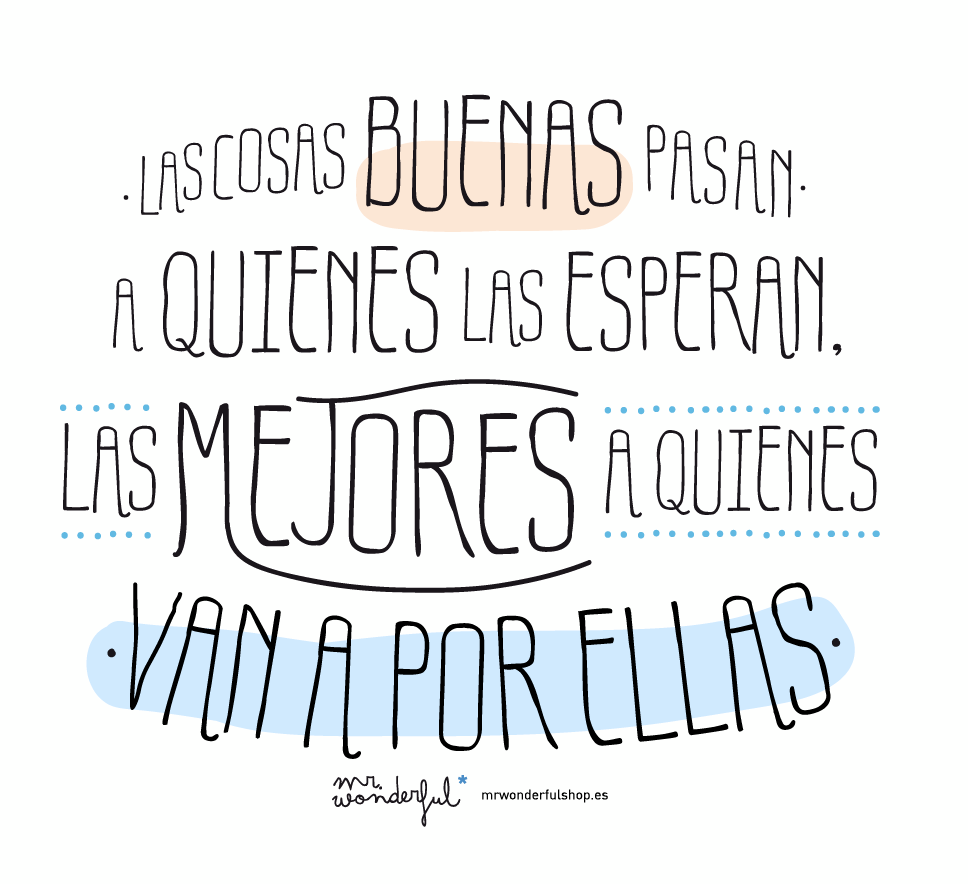 Mr wonderful for Frases de mister wonderful