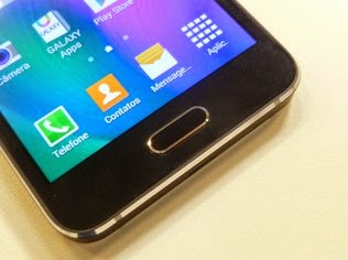 Galaxy A3 roda Android 4.4.4
