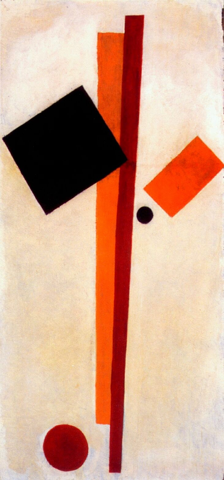 an interpretation of the red square painting by the russian painter kasimir malevich The first supremacist painting black square on white background was painted in 1913 by russian painter malevich using the dioptical technique red circle is.