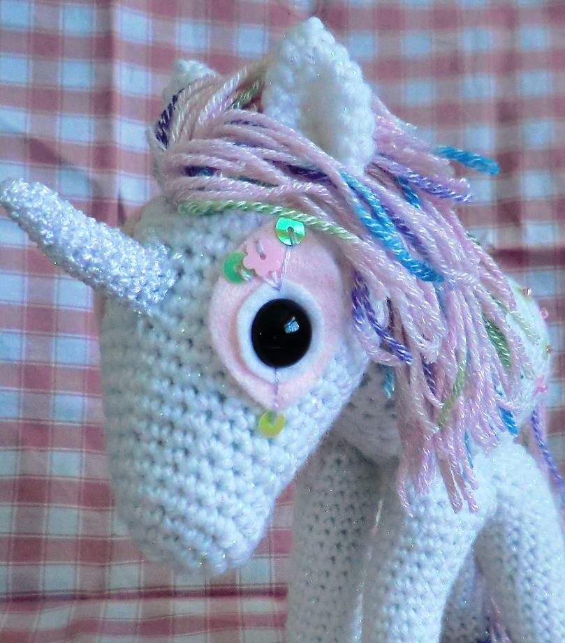 Crochet Unicorn Horn : As Ive finished it today I though Id add him to 1st Unique gifts ...