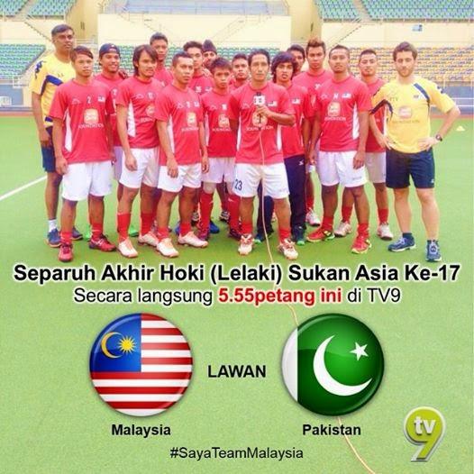 Siaran Langsung Malaysia vs Pakistan