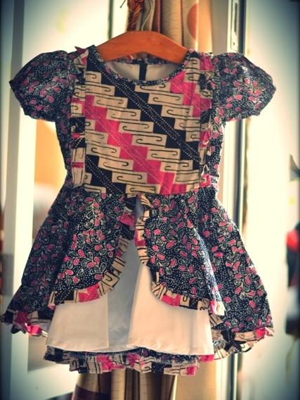 5 Model Baju Batik Anak Perempuan Terbaru