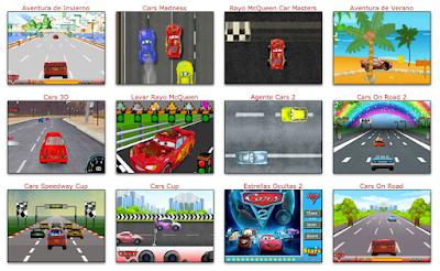 juegos divertidos de Cars