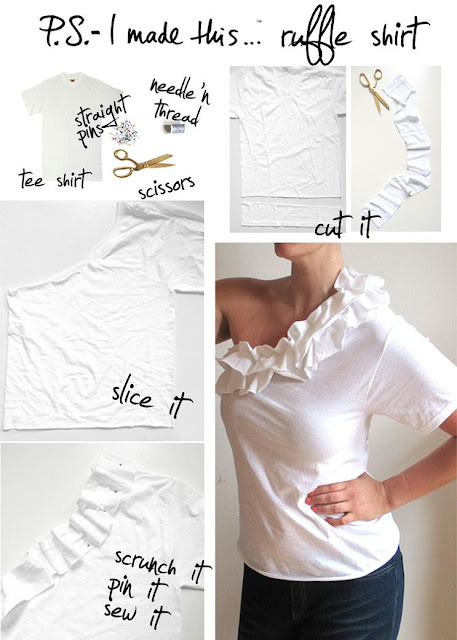 Cool Ways to Reuse Old T-Shirts (50) 6