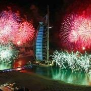 Dubai Firework Displays Gallery 2012