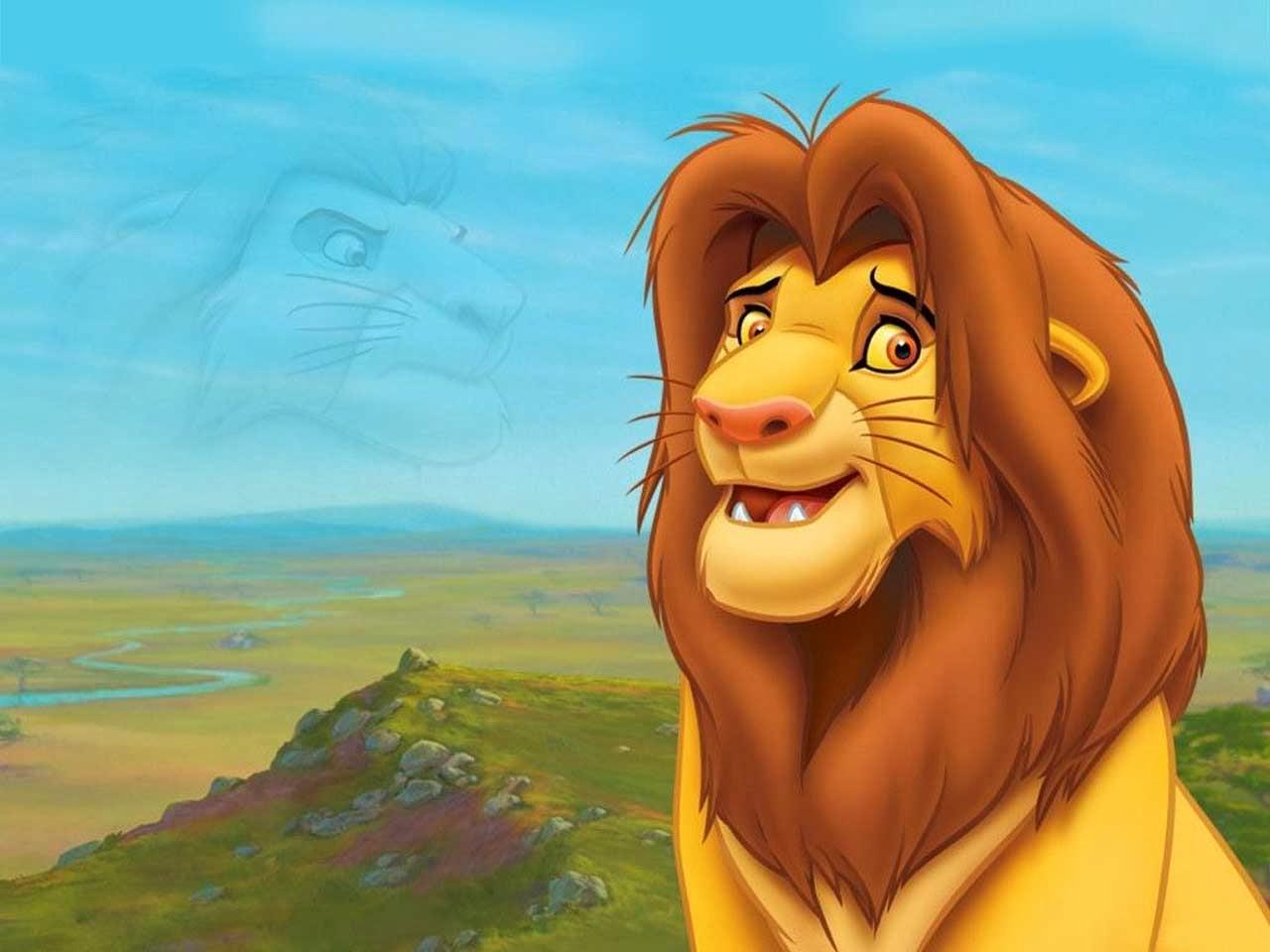 Computer Cartoons Free Cartoon Lion King Computer