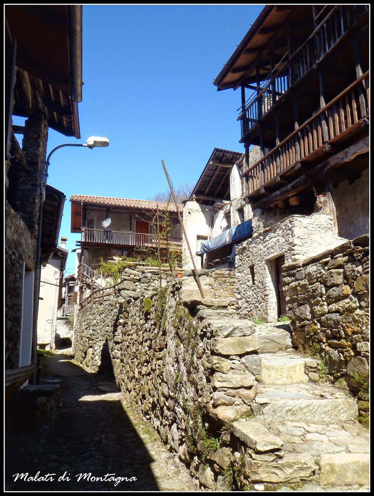 Malati di montagna monte tre croci cima della bonda dal sentiero padre gallino - Riscaldare velocemente casa montagna ...
