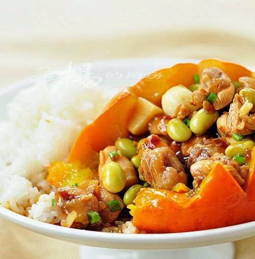 Vietnamese Chicken Recipes - Gà Hấp Bí Ngô Non