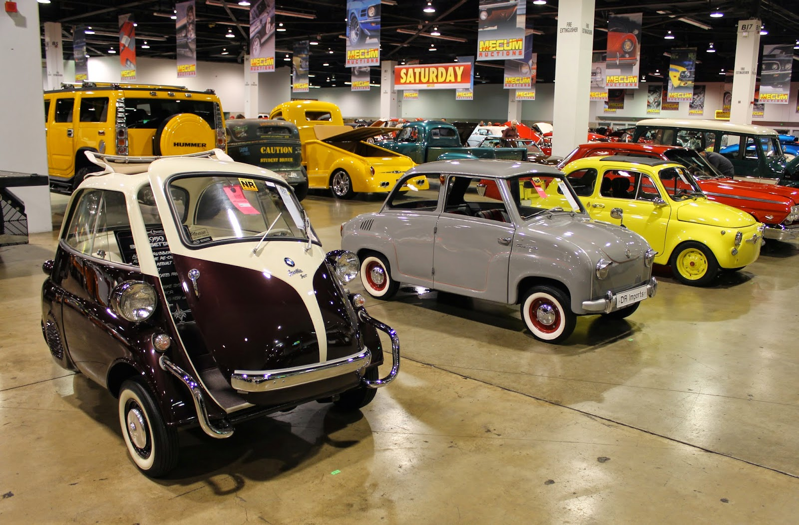 Covering Classic Cars : Mecum Auto Auction at the Anaheim ...