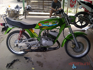 Modifikasi Yamaha RX King