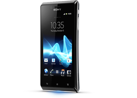 Sony, Android Smartphone, Smartphone, Sony Smartphone, Sony Xperia J, Xperia J, Android, Android 4.1.2