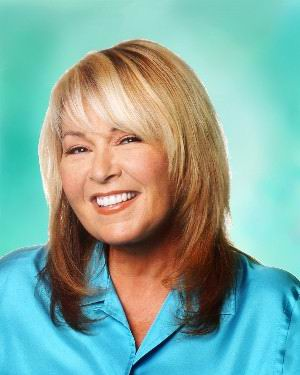 Roseanne Barr With Medium Hairstyle