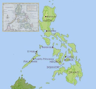 New version of Philippine map KWF
