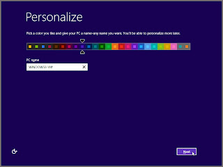 windows 8 personalization