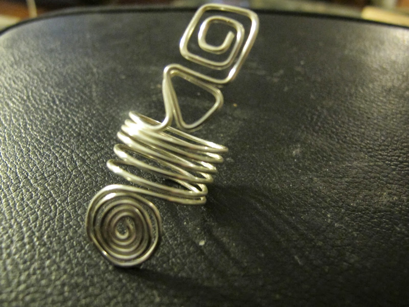 Naomi\'s Designs: Handmade Wire Jewelry: Silver And Copper Wire ...