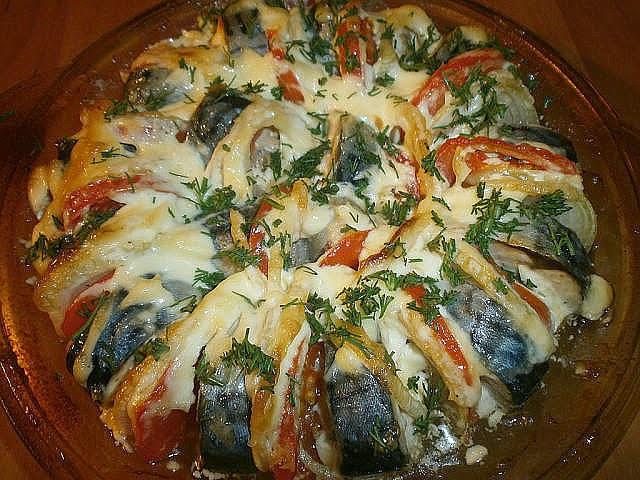 Рыба запеченная в духовке с овощами пошаговый рецепт с фото