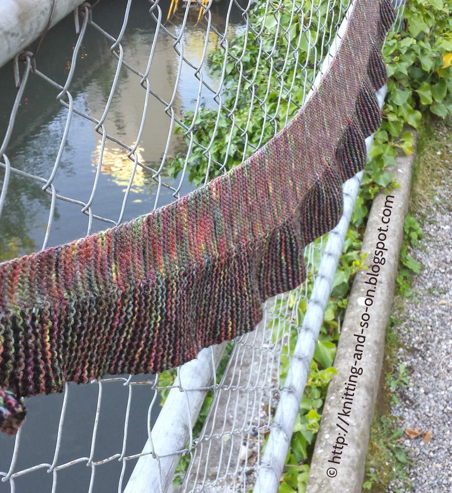 Free Knitting Pattern: Nautilina Scarf