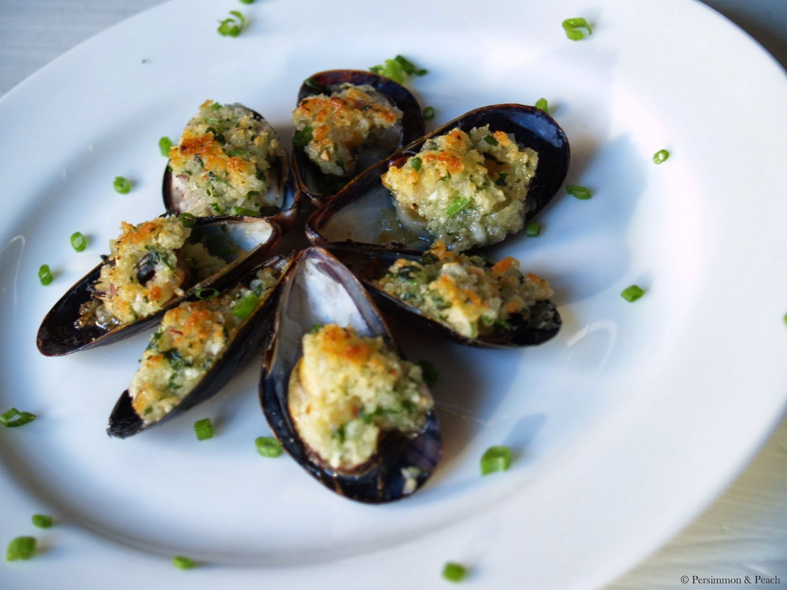 Baked Mussels With Crisped Bread Crumbs Recipes — Dishmaps