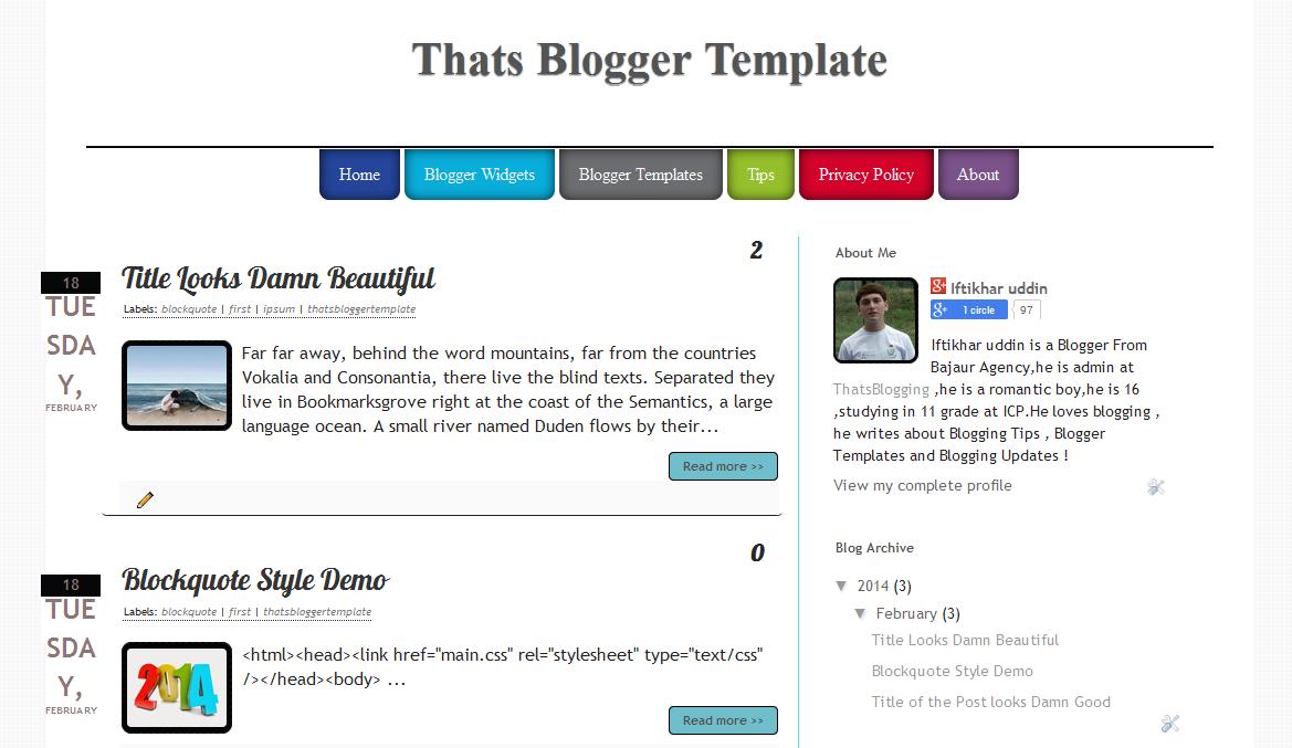 thatsblogger-template
