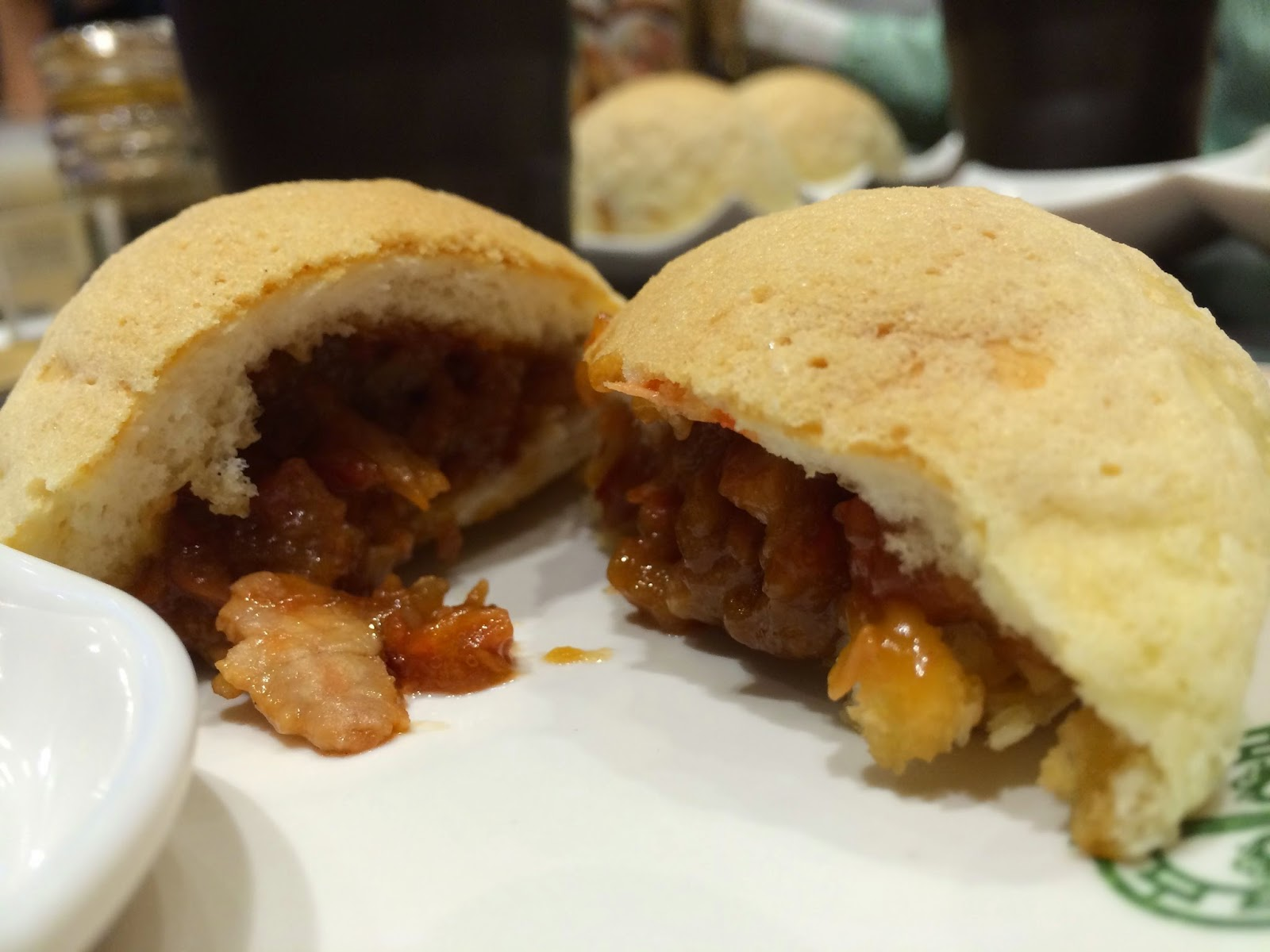 BBQ Pork Buns at Tim Ho Wan