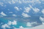 Volando entre nubes hacia México...